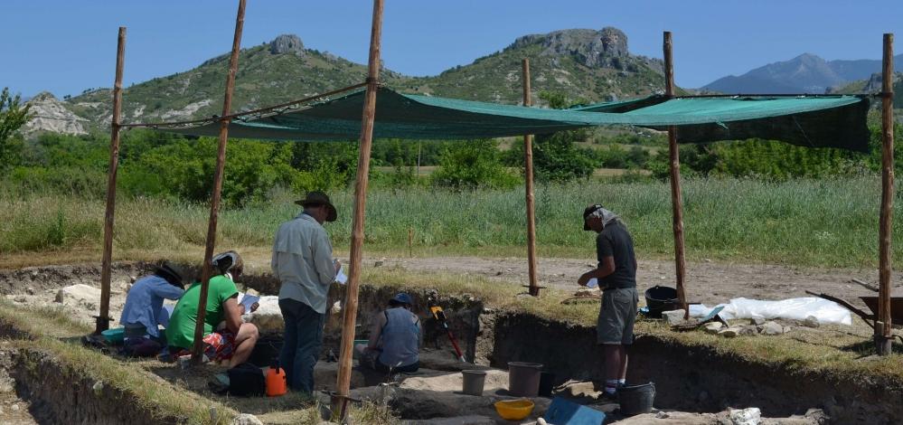 Neolithic settlement near Ilindentsi (Bulgaria)